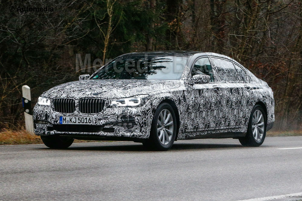 Clearer Pictures of the Next BMW 7 Series