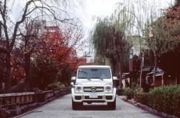 Mercedes-Benz G-Class in Kyoto – A Legendary Car in a Legendary City