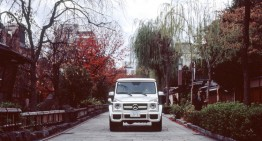 Mercedes-Benz G-Class in Kyoto – A Legendary Car in a Legendary City