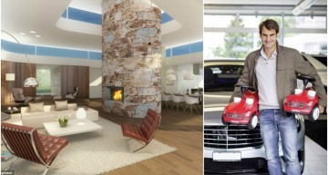 Mercedes Mini-Cars for Kids, Glass-House for Wife