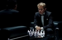 Hamilton and Rosberg: Chess Mate and the V8