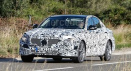 Clearer Spy Pictures  of the Future Mercedes E-Class (W213)