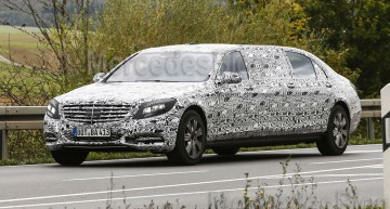 Pullman Mercedes-Benz S-Class flagship coming to Geneva