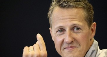 Mercedes Sticks with Schumacher