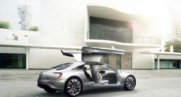 Mercedes-Benz self-driving prototype spied