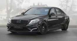 Mercedes S 63 AMG feels like a Veyron after Mansory treatment