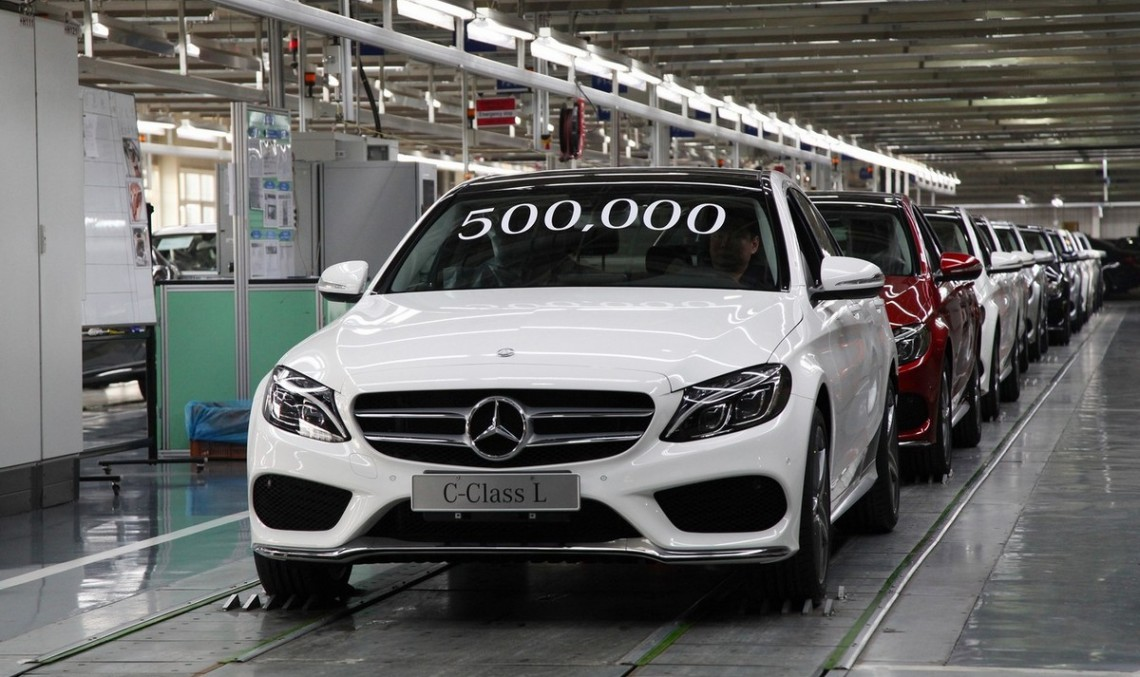 Mercedes-Benz reaches new milestone: 500,000 vehicles produced in Beijing