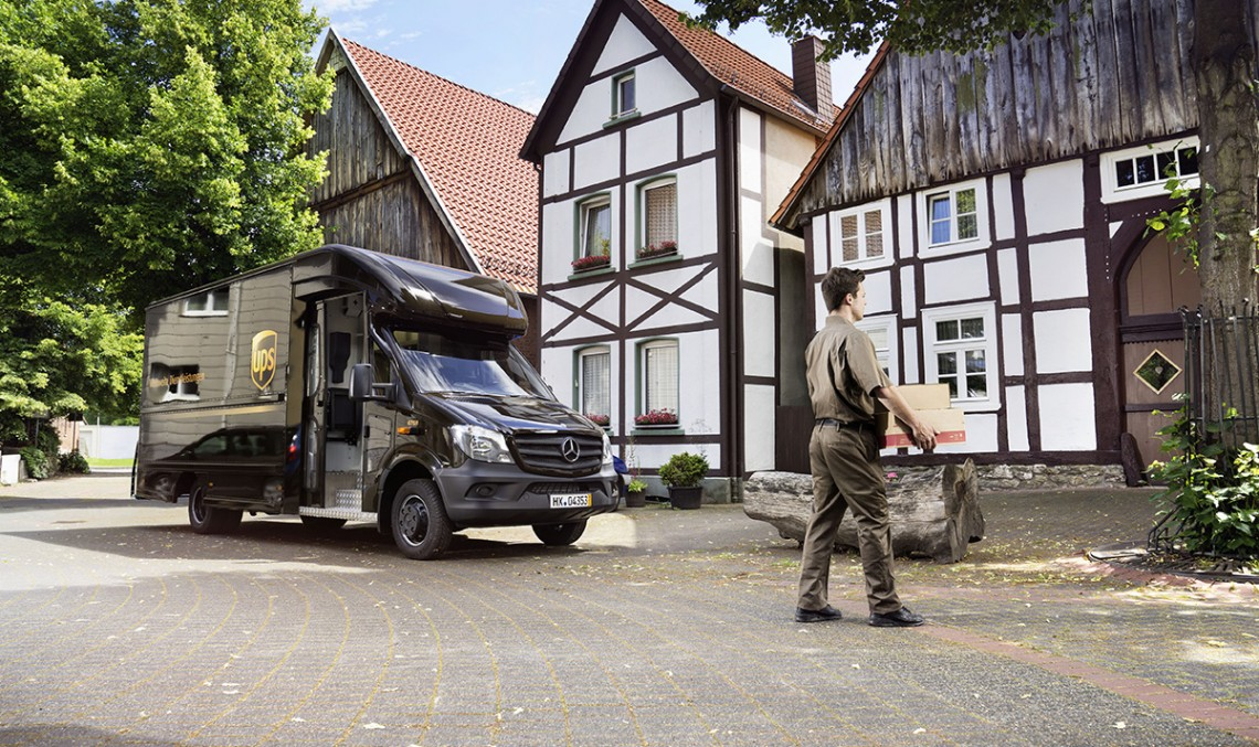 The New Sprinter is the Basis for the New UPS Delivery Vehicles