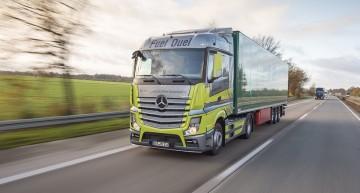 Mercedes-Benz Actros in the Fuel Duel