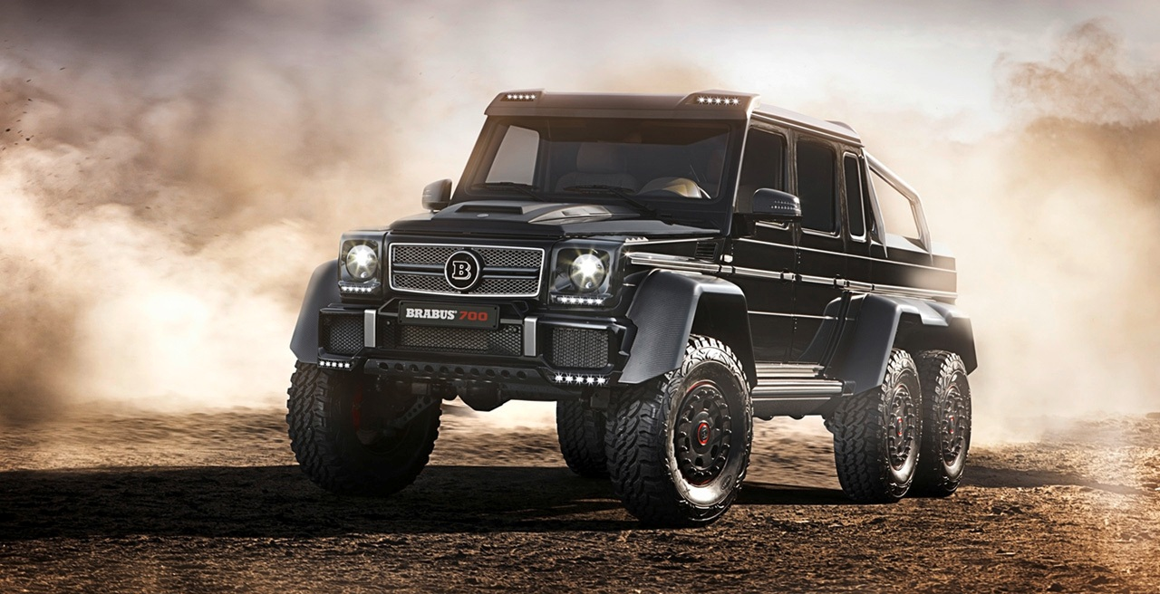 Did You Ever Wonder How The 700 Hp Brabus Tuned G63 Amg 6x6 Sounds Mercedesblog