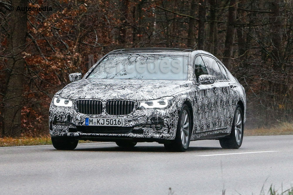 New BMW 7-Series caught again – latest pictures