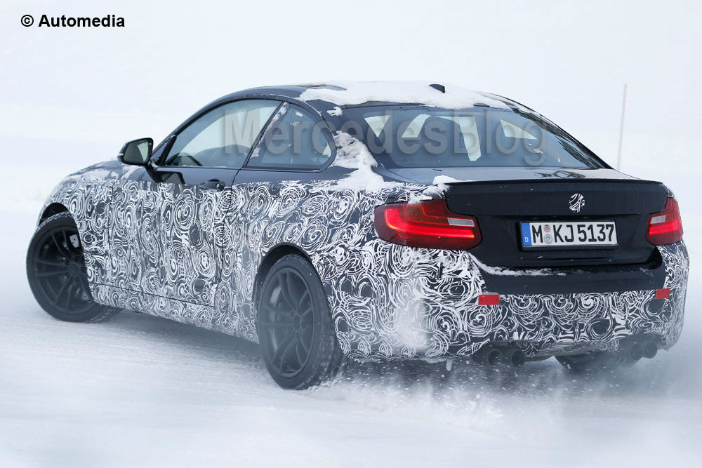 BMW M2 – the first pictures of the real car