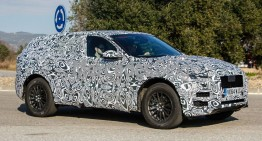 Jaguar F-Pace spotted – latest spy pictures