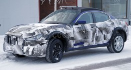 Maserati readies Levante SUV for 2016 launch