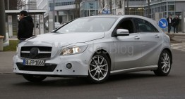 Mercedes-Benz A-Class facelift – first spy pictures and details