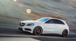 Mercedes-Benz A 45 AMG gets facelift, more power