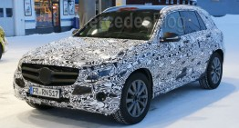 New Spy Shots of the Mercedes GLC