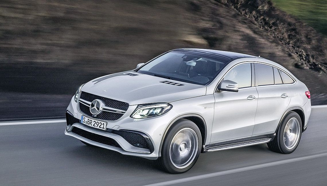 Mercedes GLE 63 AMG Coupe: The SUV Coupe with up to 585 HP