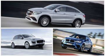 Match of the Year: Mercedes GLE 63 AMG Coupe vs BMW X6M, Porsche Cayenne Turbo S
