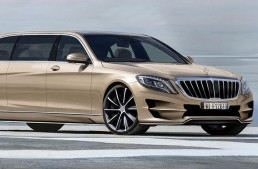 ARES Atelier created their own Mercedes-Benz S-Class Pullman limousine