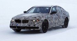 First winter spy-shots of the new 2016 BMW 5 Series
