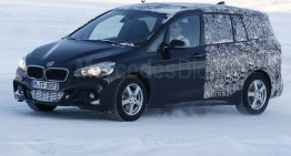 Spied again: BMW 2 Series Family Tourer is getting closer to production