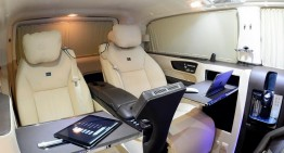 Brabus Viano iBusiness van reveals its royal interior