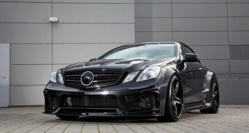 Mercedes E-Class gets a bad-to-the-bone makeover from MEC