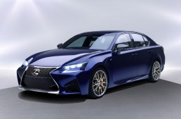 Lexus GS F officially revealed before Detroit debut