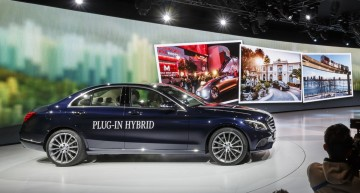 Mercedes-Benz C 350 Plug-in Hybrid unveiled in Detroit