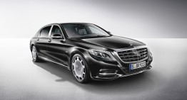 Mercedes-Maybach S600 United States pricing announced