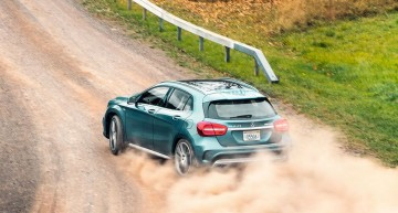 Mercedes GLA45 AMG battles Macan and SQ5 in Road and Track review
