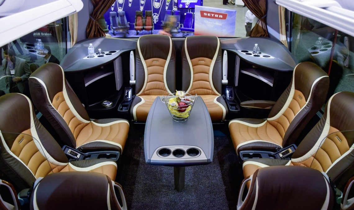 Daimler wants to rule the world with the Setra TopClass luxury coach