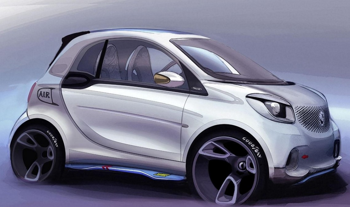 Smart ForTwo Cabrio Set to Debut Later this Year