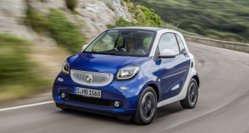 Smart fortwo now available with the twinamic dual clutch gearbox