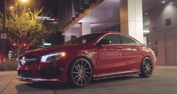 VIDEO: Mercedes CLA45 AMG benefits from the Vivid Racing touch