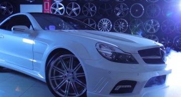 Vossen sure knows how to play up a custom Mercedes-Benz SL. VIDEO