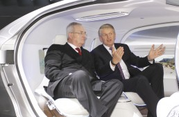 Volkswagen Boss Impressed by the F 015 Luxury in Motion Concept
