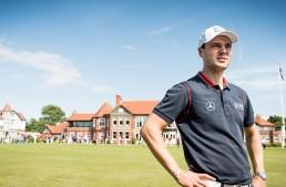 Top golfer and brand ambassador – Martin Kaymer for Mercedes-Benz