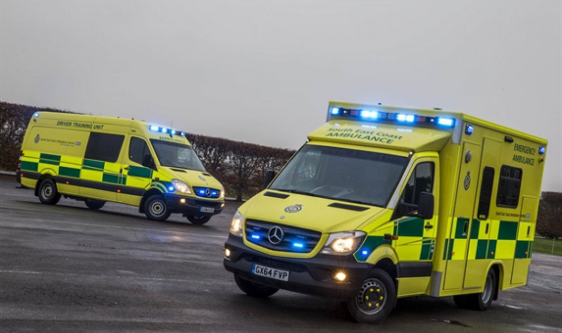 The Mercedes ambulance – Winning the race against time
