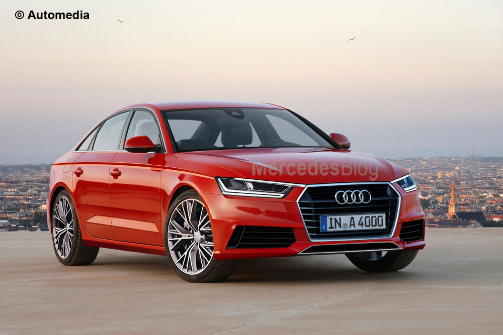 New Audi A4 prepares for Autumn launch – latest illustrations