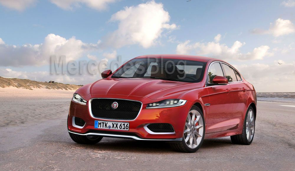 The new Jaguar XF with 4wd and long wheelbase versions