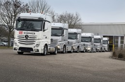 Mercedes and DB Schenker link up for new logistics partnership