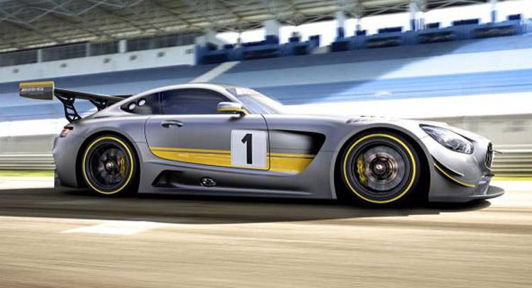 Mercedes-AMG GT3. New pictures and interior revealed