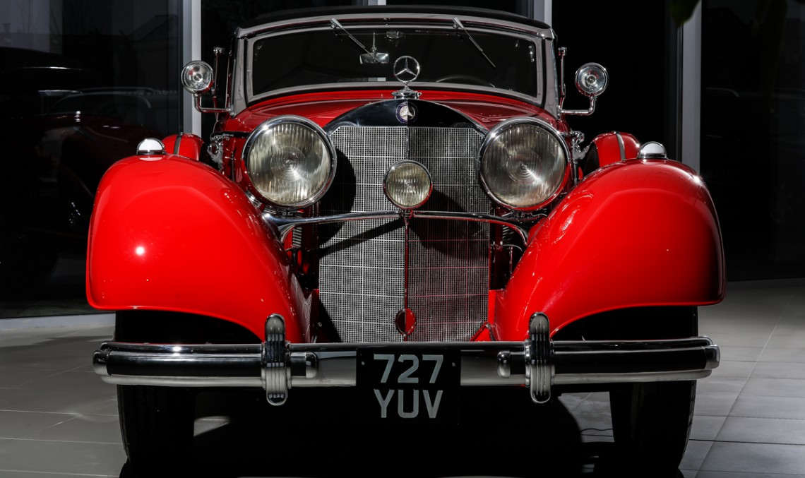Ţiriac Collection's crown jewel: Mercedes-Benz 540 K Cabriolet A