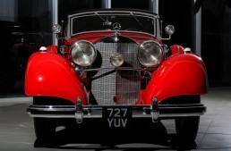 Ţiriac Collection's crown jewel: Mercedes-Benz 540 K Cabriolet A