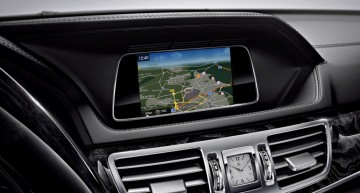 New infotainment for the E-Class