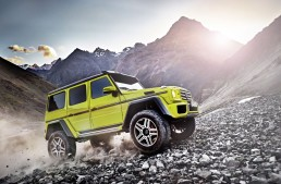 Green light for T-Rex. Mercedes-Benz G500 4×4² prices announced