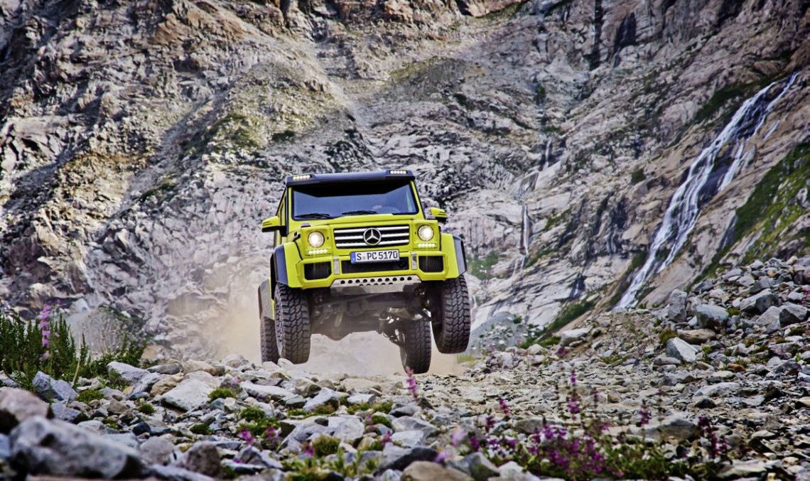 Mercedes-Benz G 500 4×4²first official pictures (update)