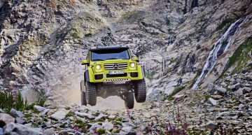 Mercedes-Benz G 500 4×4² first official pictures (update)